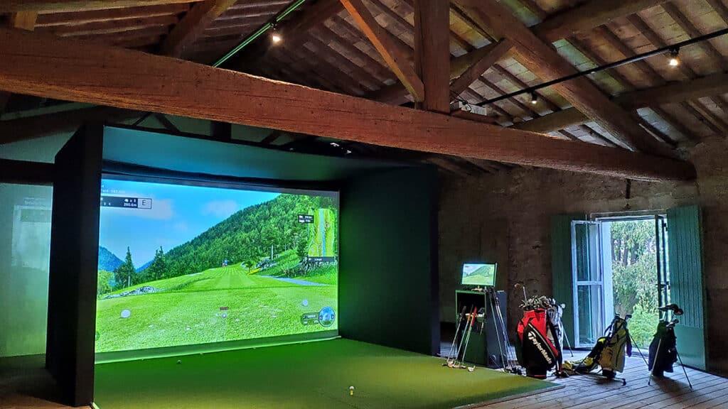 Installation simulateurs de golf EyeXO